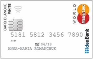 idea банк кредитная карта
