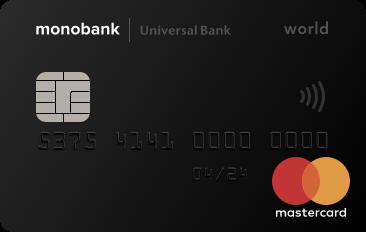 monobank кредитная карта