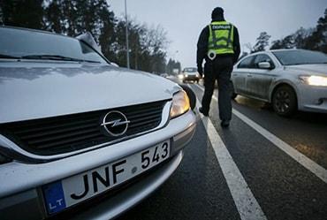 езда на нерастаможенном авто в Украине